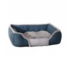 Cotton Spell Color Blue Square Warm Pet Nest