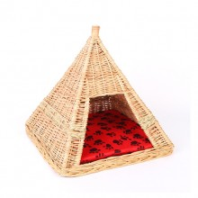 Wicker Small Cats And Dogs Pet Nest
