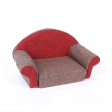 Brown Autumn And Winter Warm Pet Sofa Pet Nest