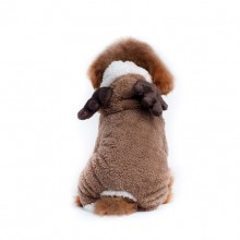 Christmas Brown Elk Pet Hooded Costume