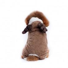 Christmas Brown Elk Pet Hooded Costume