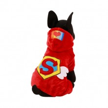 Red Peter Pan Four Legs Falei Rong Pet Clothes Fall And Winter