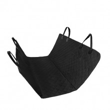 Black Oxford Cloth Pet Non-slip Car Rear Seat Cushion