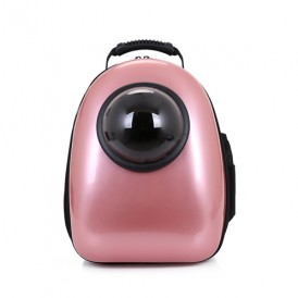 Pink Capsule Pet Go Out Backpack