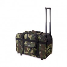 Camouflage Pattern Pet Go Out Trolley Case