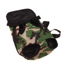 Green Camouflage Pet Chest Bag Backpack