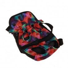 Colorful Pet Chest Bag Backpack