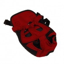 Red Pet Chest Bag Backpack