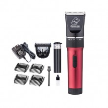 Red Hair Clippers Pet Clippers Large Dogs Teddy Razor Hair Pushing Hair Clippers