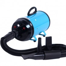 Blue High-Power Mute Dog Hair Blowing Large Pet Water Dispenser