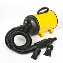 Yellow High-Power Mute Dog Hair Blowing Large Pet Water Dispenser