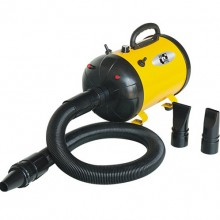 Yellow Power Mute Single Motor Hair Dryer Pet Water Dispenser