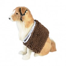 Brown Flexible Durable Absorbent Towel Pet Towel Bath Towel