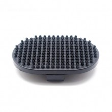 Black Rubber Bath Brush Dog Bath Brush Pet Massage Brush