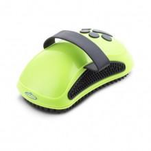 Green Silicone Soft Brush Comb Pet Dog Bath Brush Massage Brush