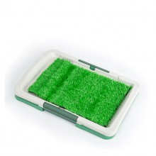 Green Simulation Lawn Pet Toilet