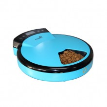Blue Intelligent Automatic Timer Feeding Cat Dog Feeder