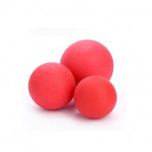 Red Rubber Pet Dog Solid Toy Ball