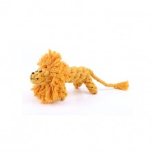 Yellow Little Lion Cotton Rope Pet Dog Molars Toys