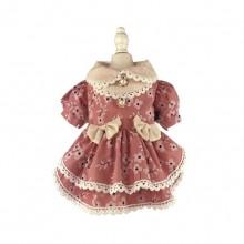 Cotton Pink Medium And Small Dog Princess Skirt