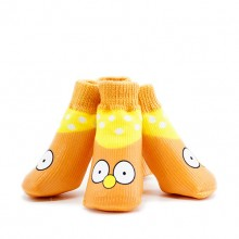 Pet Cotton Yellow Eyes Waterproof And Non-slip Socks