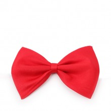 Solid Red Pet Bow Tie