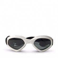 Pet White Heart-shaped Sunglasses
