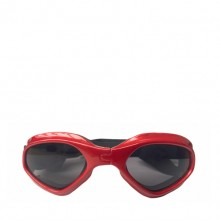 Pet Red Heart-shaped Sunglasses