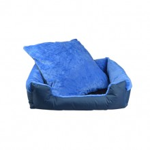 Cotton Velvet Can Be Cleaned The Square Blue Dog Nest