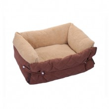 Coffee Colored Middle And Small Size Clamshell The Doghouse Four Season General Purpose