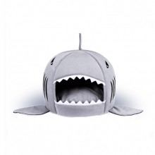 Shark Mouth Shape Small Dog Pet Nest