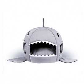 Shark Mouth Shape Small Dog Pet Nest