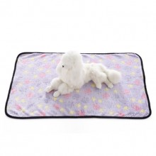 Pet Purple Flannel Dog Claw Blanket