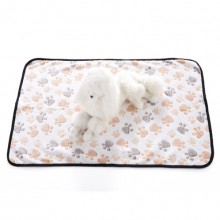 Pet White Flannel Dog Claw Blanket