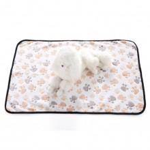 Pet White Flannel Dog Claw Blanket