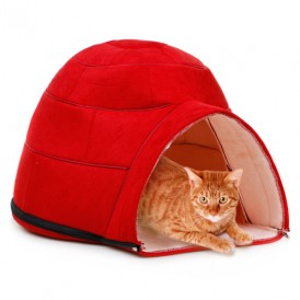 Removable Pet Red Yurt