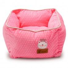 Square Pink Crown Pet Nest