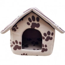 Pet Brown Dog Claws Little House