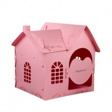 Pink Detachable Pet Cute Little House(No Mat)