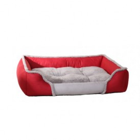 Cotton Spell Color Red Square Warm Pet Nest