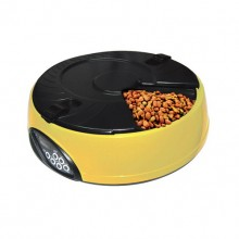 Yellow Pets Small Capacity Automatic Feeding Device