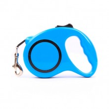 Blue Retractable Automatic Pet Traction Rope