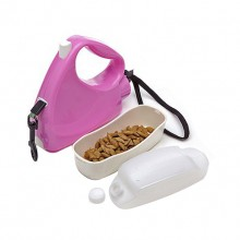 Pink Multi-Function Retractable Pet Traction Rope