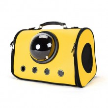 Yellow Space Bag Portable Outdoor Pet Cat Dog Package