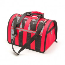 Red Portable Adjustable Breathable Small Pet Tote