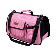 Pink Portable Storage Adjustable Breathable Small Pet Bag