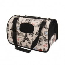 Tower Pattern Portable Breathable Small Pet Bag Aviation Box