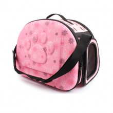 Pink Soft Portable Travel Out Of The Pet Portable Shoulder Bag