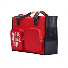 Red Soft Storage Portable Travel Pet Handbag