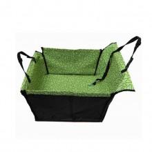 Bear Green Foldable Waterproof Go Out Single Car Mat Car Pet Pad
